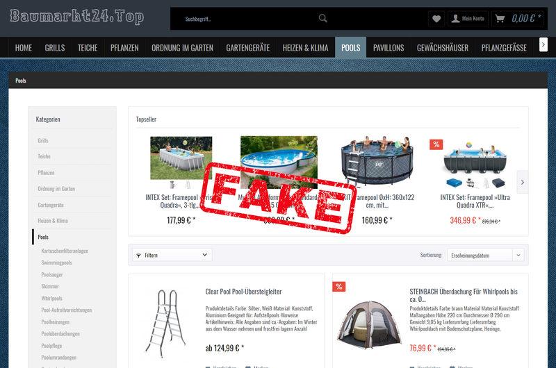 Warnung vor Onlineshop baumarkt24.top