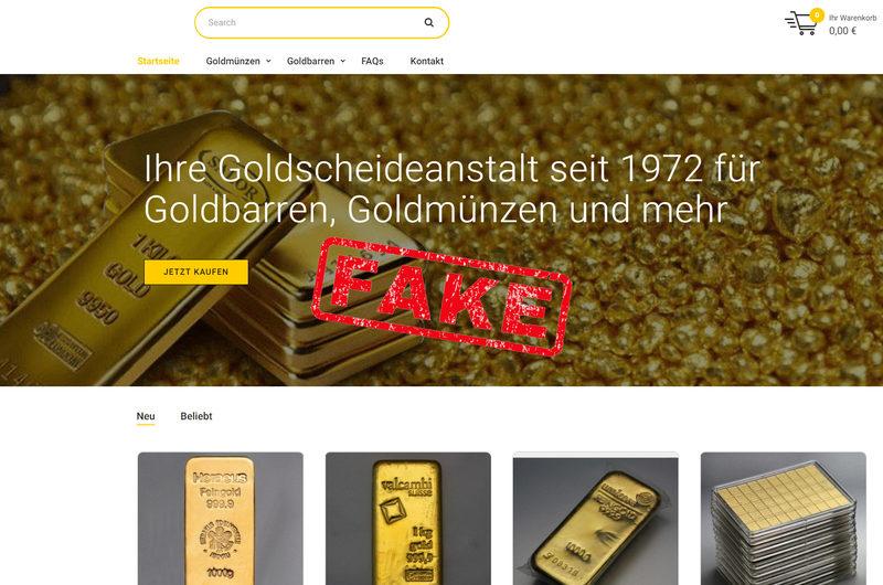 Warnung vor Onlineshop goldhandel-index.de