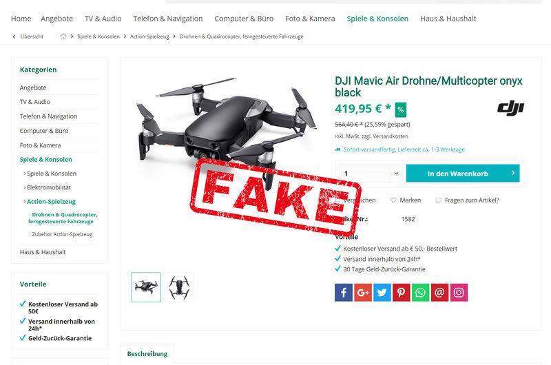Warnung vor Onlineshop heimscout24.de