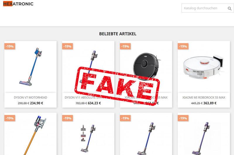 Warnung vor Onlineshop hexa-tronic.com