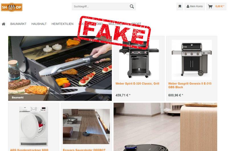 Warnung vor Onlineshop shopdaa.me