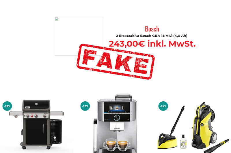 Warnung vor Onlineshop versandhandel-kutzner.de
