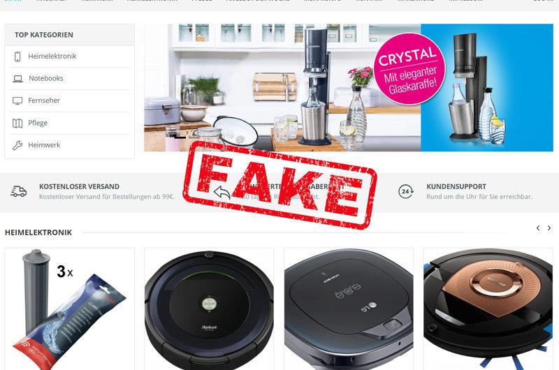 Warnung vor Onlineshop steinberg-handel.de