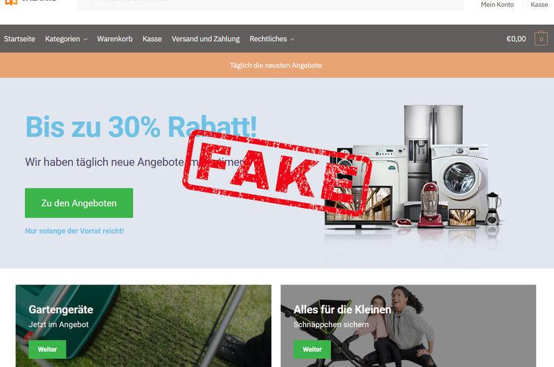 Warnung vor Onlineshop valanie.de