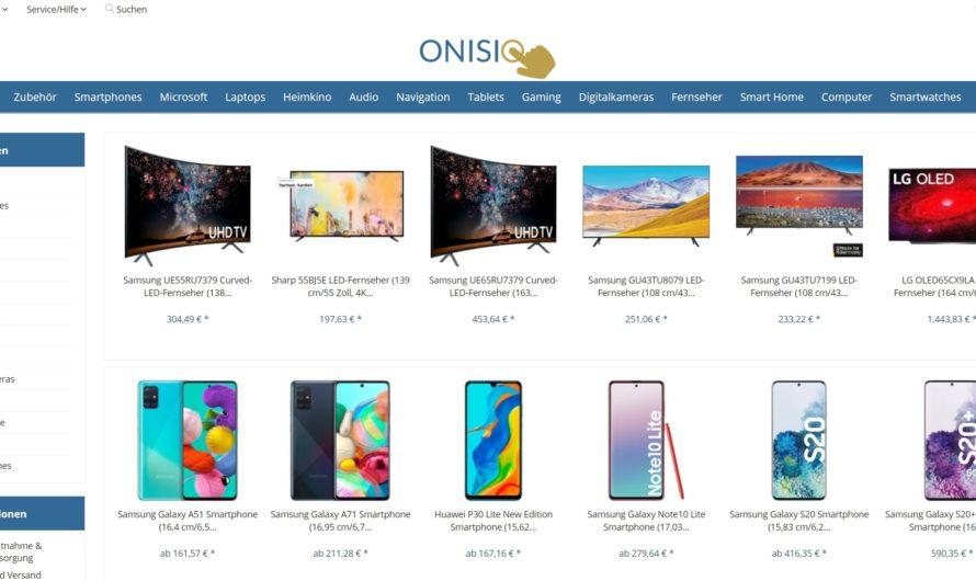 Warnung vor Onlineshop onisio.de