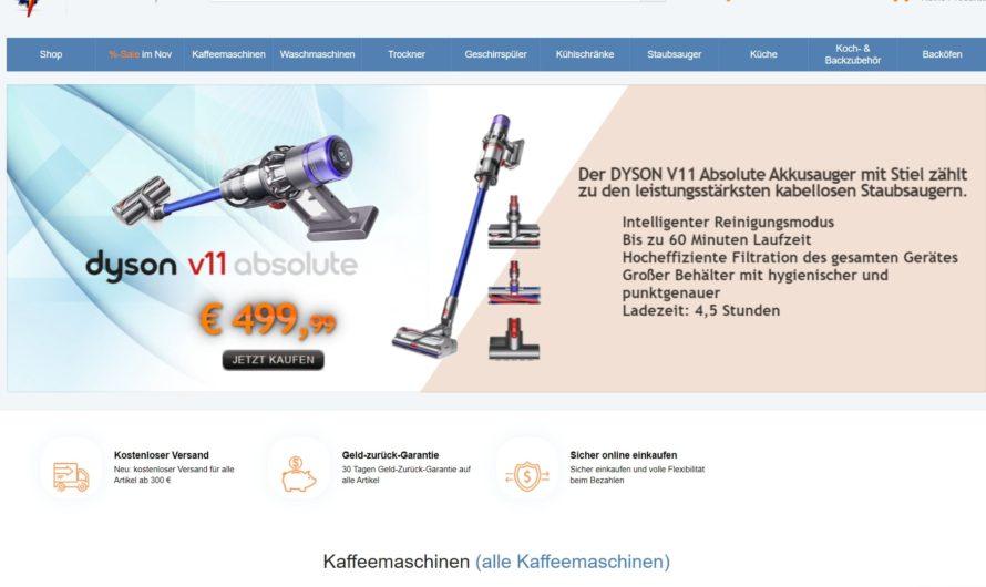 Warnung vor Onlineshop technik-mars.de