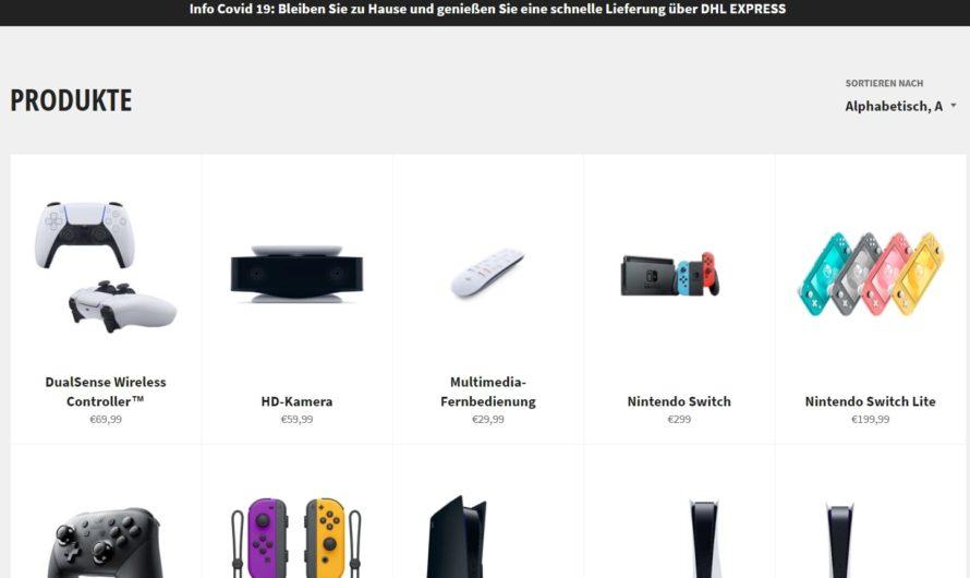 Warnung vor Onlineshop gamestopde.com