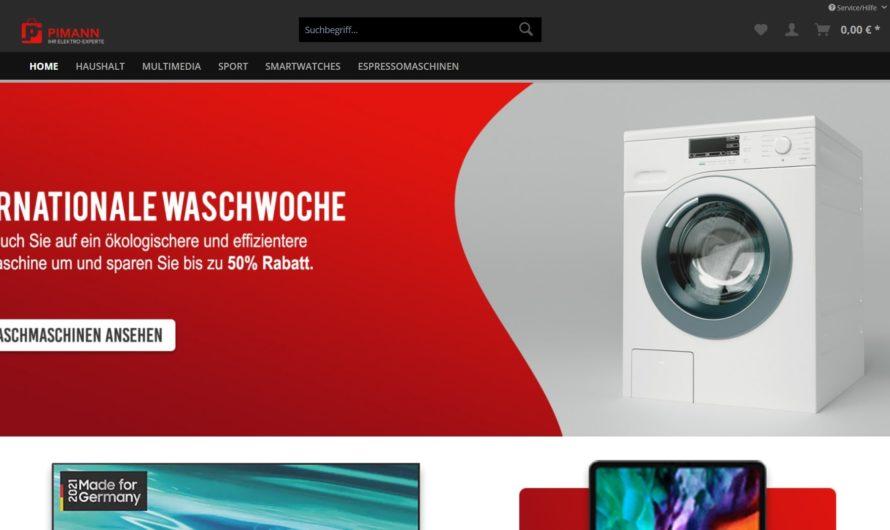 Warnung vor Onlineshop pimann.com