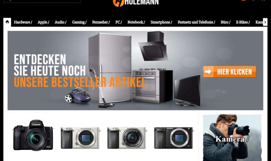 Warnung vor Onlineshop holemann.de